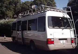 Air Conditioned Mini Bus